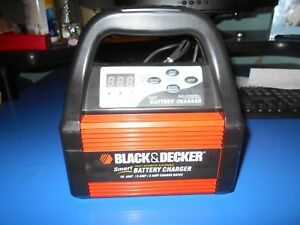 Smart Battery Charger Vec1087cbd Black Decker 10 6 2 Amp 12 Volt Lead Acid