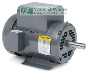 L1408t 3 Hp 1725 Rpm New Baldor Electric Motor