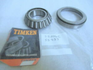 Genuine Timken 55206c 55437 Tapered Roller Bearing Cup And Cone Set Brand New