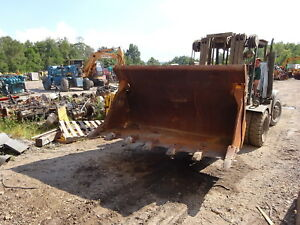 John Deere 655b Crawler Loader 4 in 1 Bucket W Quick Attach Craig Coupler 655