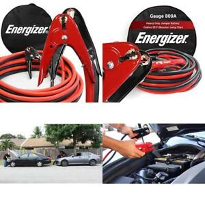 Jumper Battery Cables Heavy Duty For Car And Truck Vehicle Automotive Tools Kit