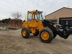 Caterpillar Wheel Loader It12 With Snow Push Box