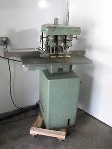 Challenge Eh3 Hydraulic Drill Press 3 spindle Paper Punch Dayton Motor 5k458b