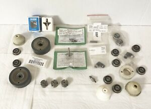 Lot Of Edm Wire Guides Ceramic Rollers Other Edm Tooling