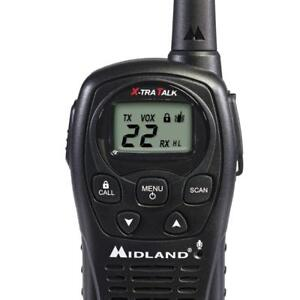 Midland Lxt500vp3 22 Channel Frs Two way Radio With Channel Scan Up To 24 M