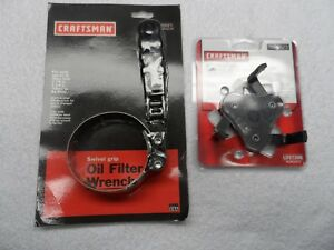 Craftsman Oil Filter Wrench 2 7 8 To 3 1 4 Auto Adjustable Usa 2 Pcs