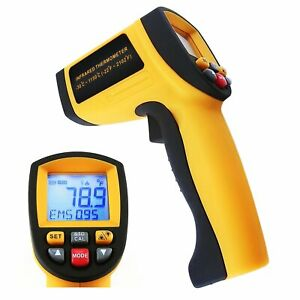 Non contract Ir Infrared Laser Thermometer 30 1150 c 22 2102 f Instant Read