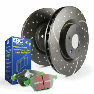 Ebc Stage 3 Front Brake Kit For 99 02 Jeep Grand Cherokee 4 0l Ate W Akebono