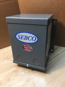 New Sebco Low Voltage Lighting Transformer 250w 1109 Pri 120v Sec 12v 60hz