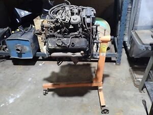 1978 79 Chevy Malibu Or El Camino 6 Cyl Engine Plus Stand Used In Good Condition