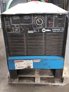 Miller 651 Deltaweld 650 Amp Constant Voltage Dc Power Source Welder