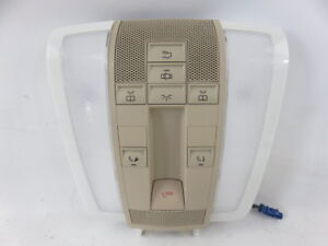 Mercedes Benz C Glk 12 15 Overhead Roof Dome Light Lamp Switch 12 15 A2048202201