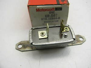 Motorcraft Gr 507 Instrument Voltage Regulator 1957 59 Ford 1958 59 Thunderbird