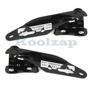 For 94 01 Integra 96 00 Civic 97 01 Cr v Front Hood Hinge Bracket Set Pair