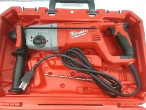 Milwaukee 1 Sds Plus Rotary Hammer Kit Corded 5262 21