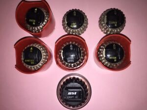 Lot Of 7 Ibm Selectric I Ii Typewriter Font Ball Heads