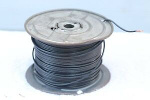 400 Ft Roll spool Black 14 Awg Standard Stranded Copper Wire
