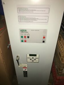 Asco Series 7000 Transfer Switch 208v 70a 3phase