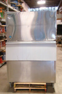 Hoshizaki Commerical Ice Maker Stackable Crescent Cuber 208 230 3ph Km 1600swe