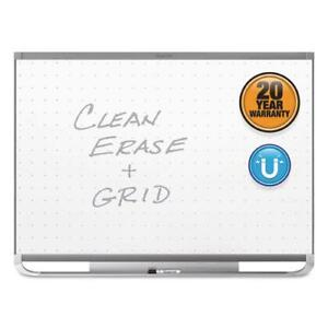 Prestige 2 Magnetic Total Erase Whiteboard 48 X 36 Graphite Frame
