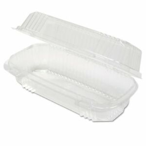 Clearview Smartlock Containers Clear 8 1 2w X 2 1 2d X 4h 250 carton