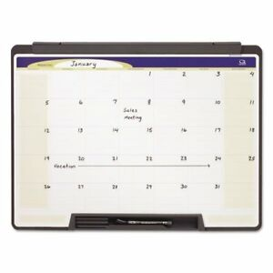 Motion Portable Monthly Calendar Dry Erase 24 X 18