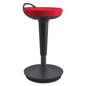 Adaptivergo Balance Perch Stool Red With Black Base