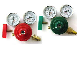 Propane acetylene Oxygen Premium Regulator Set For Welding Brazing Torch Yam
