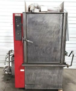Hydro blast 24 3hp Automatic Stainless Steel Rotary Heated Parts Washer 480v Ss