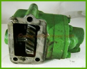 A4478r John Deere 50 60 70 Powr trol Pump Removed From A Running Tractor