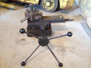 Royal 6 Station Lathe Turret Bed Tailstock 1 Bore