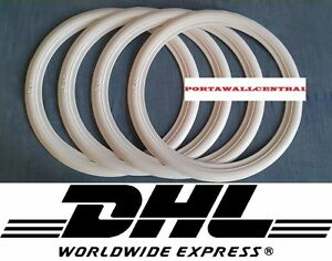 Atlas 17 Whitewall Portawall Tire Insert Trim Set Of4 New Vw Beetle