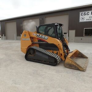 2016 Case Tr340 Tracked Skidsteer Loaded Cab A c Nice Shape Video Low Hours
