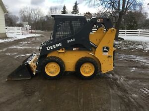 2017 John Deere 314g Skid Steer Loader