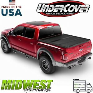 Undercover Armorflex Tri fold Bed Cover Fits 2017 2019 Honda Ridgeline 5 Bed
