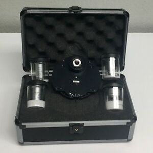Leica Phase Contrast Kit W Phase Condenser 4 Objectives