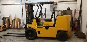 Hyster Forklift S155xl 15 500 Lb Propane gas New Paint Job