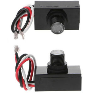 2pack Outdoor Electric Resistor Photocell Light Control Sensor Switch Jl 103a Us