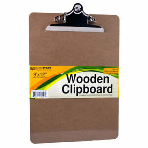 Set Of 24 Bulk Lot Wood Clipboard
