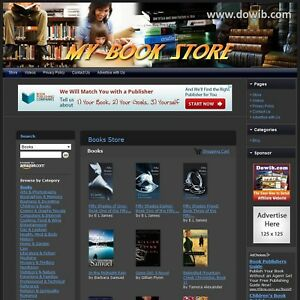 Book Store Complete Turnkey Website Free Amazon Google Affiliate Make Money