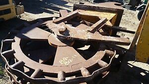 18 Compaction Wheel For Large Excavator With Quick Coupler Gd Condition