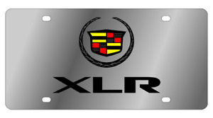 Cadillac Xlr Logo Mirror Polished 3d Logo Finish Stainless Steel License Plate