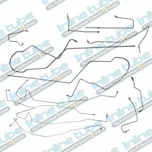 1995 2007 Ford Taurus Sable Brake Line Set 4 Wheel Disc Without Abs Stainless