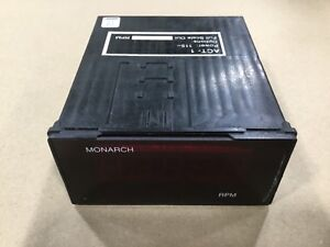 Monarch Act 1 Digital Tachometer Rpm 13a38