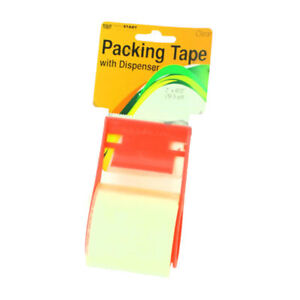 Set Of 24 Bulk Lot Packing Tape With Dispenser