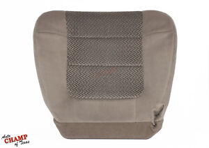 2001 2002 Ford F150 Xlt Crew driver Side Bottom Replacement Cloth Seat Cover Tan