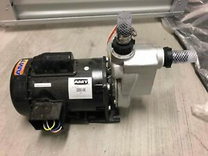 Amt Commercial Duty 3 4hp 1 5 Stainless Steel Chemical Pump Model 3890 98