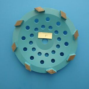 9 Cup Grinding Wheel 7 8 5 8 8seg for Concrete Floor Grinding Coating Removal