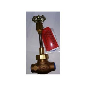 Rego Bronze Globe Valve 222 Series With Silver Brazed Ends For Cryogenic Service