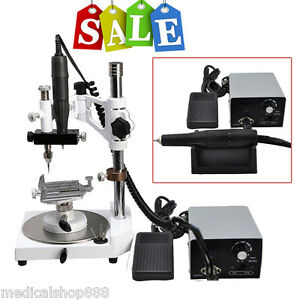 Us Dental Micro Motor Polisher Unit Parallel Surveyor Polishing Handpiece 35k